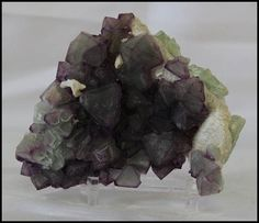 Octahedral Fluorite on Calcite Slab Gifts for Him Trendy
