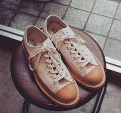 Kokubunji Shoes - Custom Converse Chuck Taylor shoes with Vibram sole and Goodyear welt