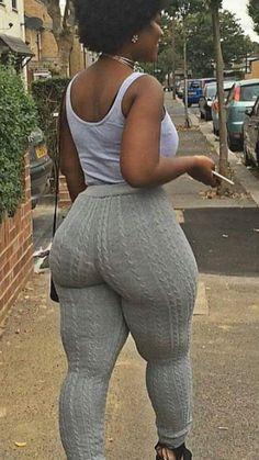 Black phat booty hips bbw in spandex