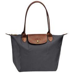 LOVE! Le Pliage Medium Tote | Longchamp | Free Shipping | $125... Love the gray