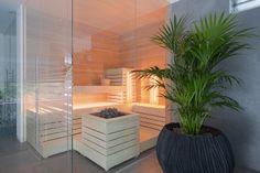 Home sauna in The Netherlands. Design & Realization: 4SeasonssSpa (www.4seasonsspa-pro.com)