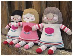 S & L Hand Knit Dolls