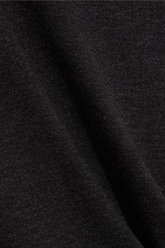 Vince - Slub Jersey Top - Gray - medium