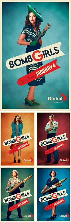 Bomb Girls. Can't wait to watch this. Starts 09/11 on Reelz!!!