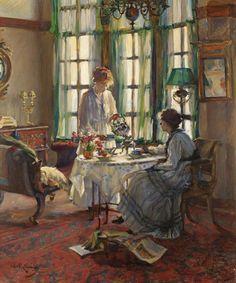 A Helensburgh Breakfast, by Annie Rose Laing (n.d.)