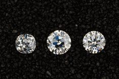 Old Mine vs. Old European Cut vs. Engagement Ring Advice, Antique Engagement Rings, Diamond Tops, European Cut Diamonds, Brilliant Diamond, Colored Diamonds, Diamond Earrings, Jewels, Bijoux