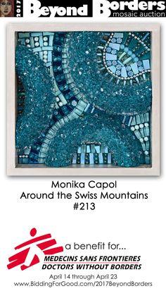 https://flic.kr/p/So6oiS | Monika Capol | 2017 Beyond Borders: mosaic auction Open: 10:00am EDT Friday April 14, 2017 Close: 10:00pm EDT Sunday April 23, 2017 Auction site: www.biddingforgood.com/2017BeyondBorders