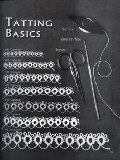 Tatting pattern by Venus                                                                                                                                                      More