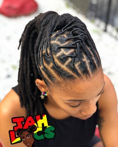 Who loves Pony tails! This is so simple and cute Who loves Pony tails! This is so simple and cute Dreads Styles For Women, Short Dreadlocks Styles, Short Locs Hairstyles, Dreadlock Styles, Trending Hairstyles, Twist Hairstyles, Protective Hairstyles, Black Boy Hairstyles, Short Dread Styles