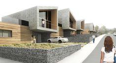 13 LOGEMENTS EN BANDE – MANNEVILLE LA PIPARD – 14 « FRUTOSO ANTHONY ARCHITECTE
