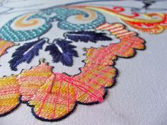 Bayeux stitch... by Smallest Forest, via Flickr