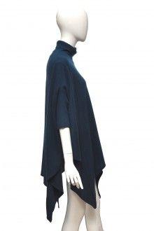 Modré vlněné úpletové pončo Catherine Malandrino  #ponco #uplet #vlna #modra Moschino, Ballet Skirt, Gucci, Vogue, Skirts, Vintage, Fashion, Moda, Skirt