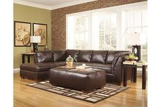 Mahogany Fairplay DuraBlend® 2-Piece Sectional View 1