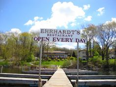 Ehrhardt S Waterfront Restaurant Ehrhardts Is On Lake Edge Dining With Mostly Utrusive Views Of Wallenpaupack Plus Banquet Center Has Same