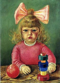 OTTO DIX (German, 1891-1969) / Nelly with toys*