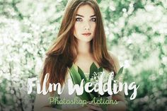 Film Wedding Photoshop Actions by beArt-presets on Creative Market