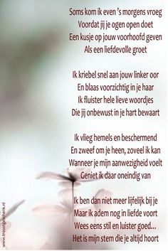 Zou het niet fantastisch zijn als we dit weer zouden beseffen? I Miss My Dad, I Miss You, Sad Words, Love Words, Inspirational Quotes About Love, Love Quotes, Dutch Quotes, Poems Beautiful, Angels In Heaven