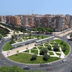 Built by SUBARQUITECTURA in Alicante, Spain with date 2007. Images by Unknown photographer. Building the Tram stop was an opportunity to give back to the city a space that had been taken from it; transform a r...