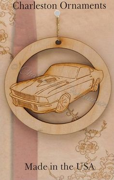 Engraved Modern Mustang Ornament FREE PERSONALIZATION Mustang Lover Christmas Gift, Mustang Gift Topper, Mustang Christmas Ornament