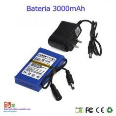 Bateria recargable litio 12V / 3A