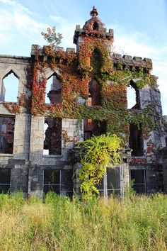 Roosevelt Island: Smallpox Hospital Ruin — Alexandra Charitan