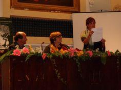 """29 settembre 2012 - Presentazione del libro """"Il canto del pollo spennato"""" di Diana Sganappa, organizzata presso l'auditorium di Bagnoregio.  http://www.edizioniarcheoares.it/ilcantodelpollospennato"""