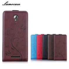 Lamocase Brand Cover For Lenovo A5000 5.0 inch Cases Wallet leather Case For a5000 Mobile Phone Cover&Bags Embossing Protective