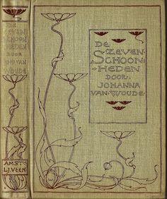 we.Boekband ontwerp cover design Entwurf Einband L.W.R Wenckebach 1860 -1937 | Flickr - Photo Sharing!