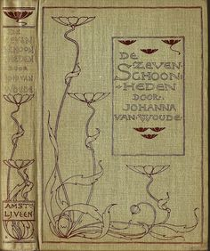 we.Boekband ontwerp cover design Entwurf Einband L.W.R Wenckebach 1860 -1937 | Flickr - Photo Sharing!