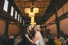 Happiness Radiates From This Rustic Garfield Park Conservatory Wedding