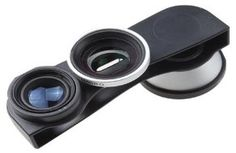 Hot deal for iPhone 5 users! Detachable 3-in-1 lens down to $10.12 (reg $59.99) right now! 180-degree fisheye lens, wide angle and macro | ChaosIsBliss.com