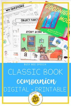 This collection of mini book campions is perfect for your classroom or therapy room! It has everything you need to create a perfect lesson!