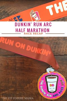 Dunkin' Run ARC Half Marathon Race Recap {Running, #RunChat, ARC of Onondaga Half Marathon, #RunsOnDunkin} | The Fit Foodie Mama