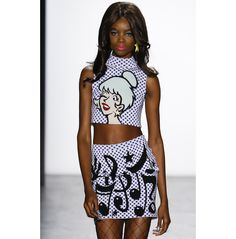 Cowboys and Poodles, the theme of the Jeremy Scott Fall/Winter 2016-2017 show, captivated the New York Fashion Week audience with its nod to cartoons, retro influences and the art world. From the homage to The Ren