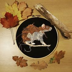You will soon be able to buy original artworks from my etsy shop! Watch has this space! Working on photos for my new embroidery hoop collection! http://ift.tt/2fcrFO5 #bristolartist #textileartist #embroidery #embroideryhoops #ratty #cute #autumn #craft