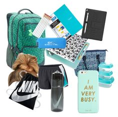 """""""School Day"""" by cfgirl101 ❤ liked on Polyvore featuring Fit & Fresh, Under Armour, Avery, Happy Jackson, NIKE and ban.do"""