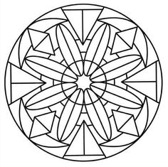 In these pages, we offer you Easy Mandala coloring pages for kids, or even for adults who would like to begin coloring this type of drawing . Before using more difficult Mandalas. Various styles and themes are available, and others will be added soon ! Mandala Coloring Pages, Coloring Book Pages, Coloring Sheets, Mandalas For Kids, Simple Mandala, Barn Quilt Patterns, Free Printable Coloring Pages, Mandala Design, Adult Coloring Pages