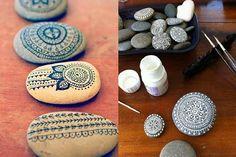 Joias do Lar: Pra decorar? Pedras!