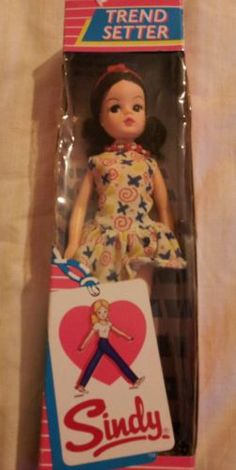 NRFB Sindy doll boxed - Trend Setter 46+5.2