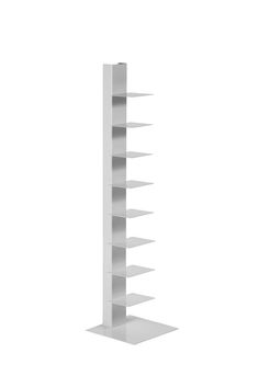 "Sapien Bookcase Spine - White$125 47"" tall"