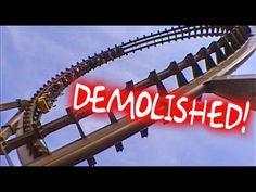 10 Closed & Demolished Wood Roller Coasters! On Ride POV! USA - Japan - ...