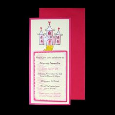 Check out this wonderful and unique #card designed by hand, which can be #personalized to your requirements. Perfect for #parties, #baby #showers, #christenings, #announcements for #girls.