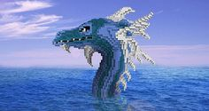 Awesome sea serpent head :D