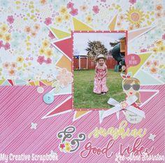 Sunshine+&+Good+Vibes - Scrapbook.com