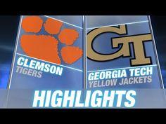 Clemson vs Georgia Tech | 2014 ACC Football Highlights