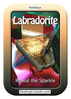 Reveal the Sparkle  Are the days feeling dark and cold? Crystals can help you find the light that is just beneath the surface.  http://www.healingcrystals.com/advanced_search_result.php?dropdown=Search+Products...&keywords=Labradorite  Use HCPIN10 for 10% off