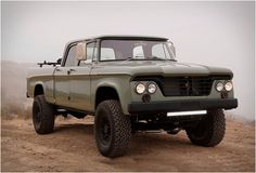 Icon Dodge Power Wagon - Vehicles - ATV, Pickup truck, Green