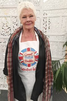 #DameJudyDench Supporting our Great British Brekkie campaign 2015