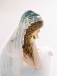 Beautiful Mantilla Wedding Veil