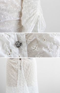 details on a 1930s plus size wedding gown. size 1x / 2x. - Become curvysational ! Visit and join http://curvysation.com for fashion and lifestyle news !